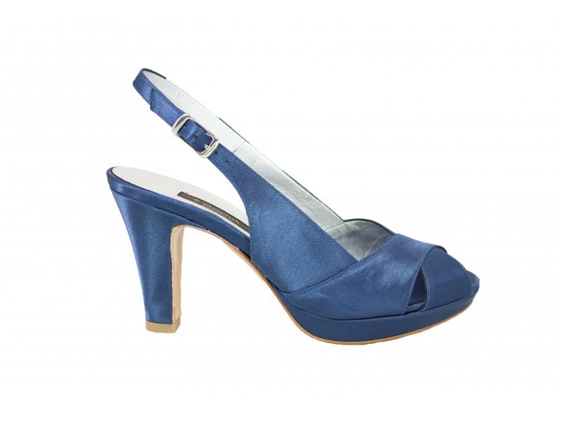 Sandalo 717 Raso Sandalo 717 L'amour L'amour Blu 43SqcAjL5R